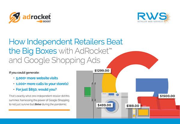 AdRocket Google Shopping